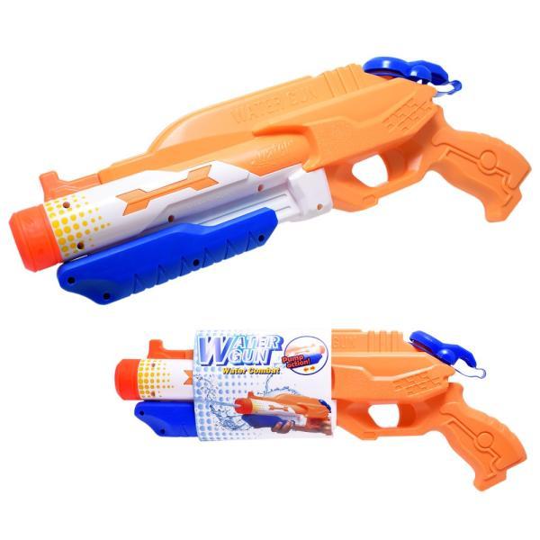 水鉄砲 ウォーターガン 超強力飛距離 8m 10m 容量 1L 高性能 ポンプ おもちゃ オレンジ|liberta-shop|06