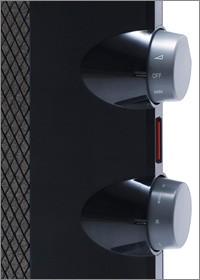 サーモスタットで適温を設定すれば、自動的に電源のオン/オフを繰り返し 無駄な暖め過ぎを防ぎます。