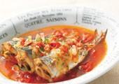 ビタクラフトスーパー圧力鍋なら小さな魚は骨まで柔らかくなります。