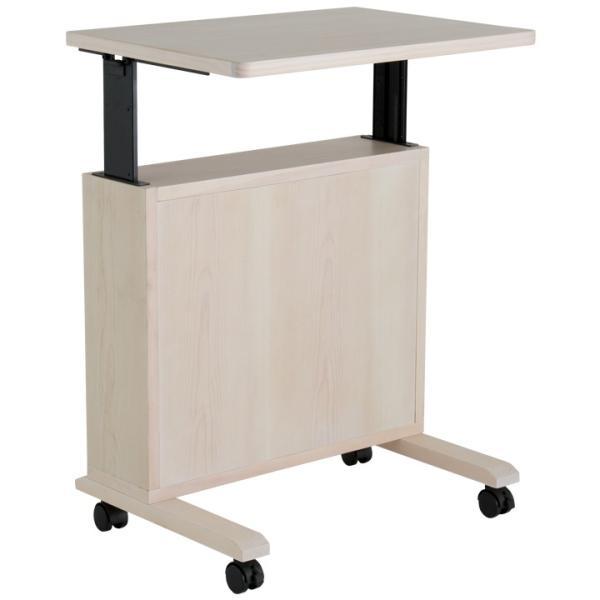 昇降式 テーブル サイドテーブル 木製 ソファサイド キャスター付 ベッド|life-styling-shop|12