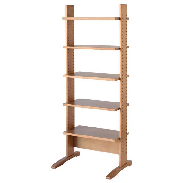 シェルフ棚 木製 北欧 シンプル 棚 収納 ラック 幅60cm 飾り棚 上下可動|life-styling-shop|11