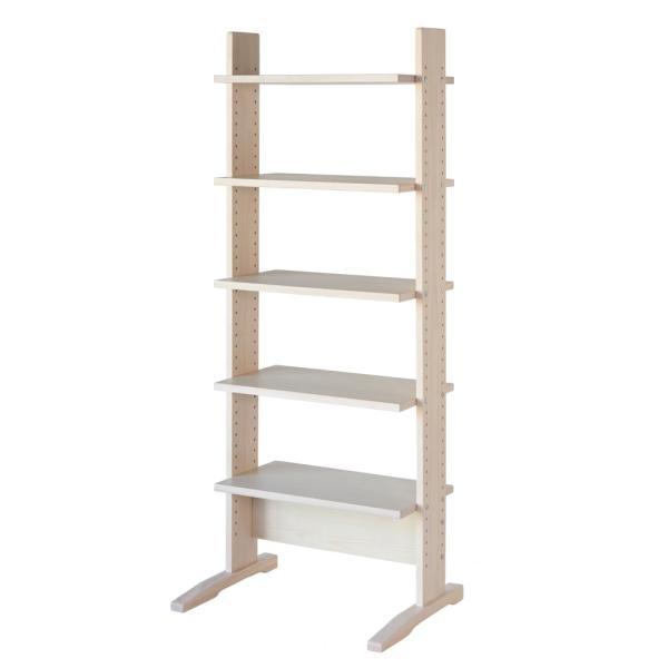 シェルフ棚 木製 北欧 シンプル 棚 収納 ラック 幅60cm 飾り棚 上下可動|life-styling-shop|12