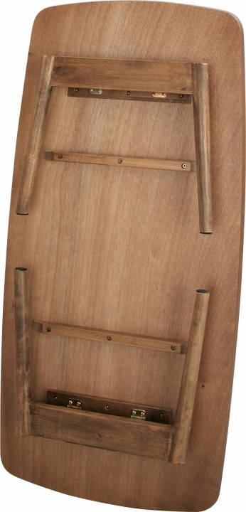 Tomte トムテ フォールディングテーブル 卓袱台 ちゃぶ台 脚部折畳式 木製 幅105cm 高さ35cm (TACL-229WAL)の機能紹介