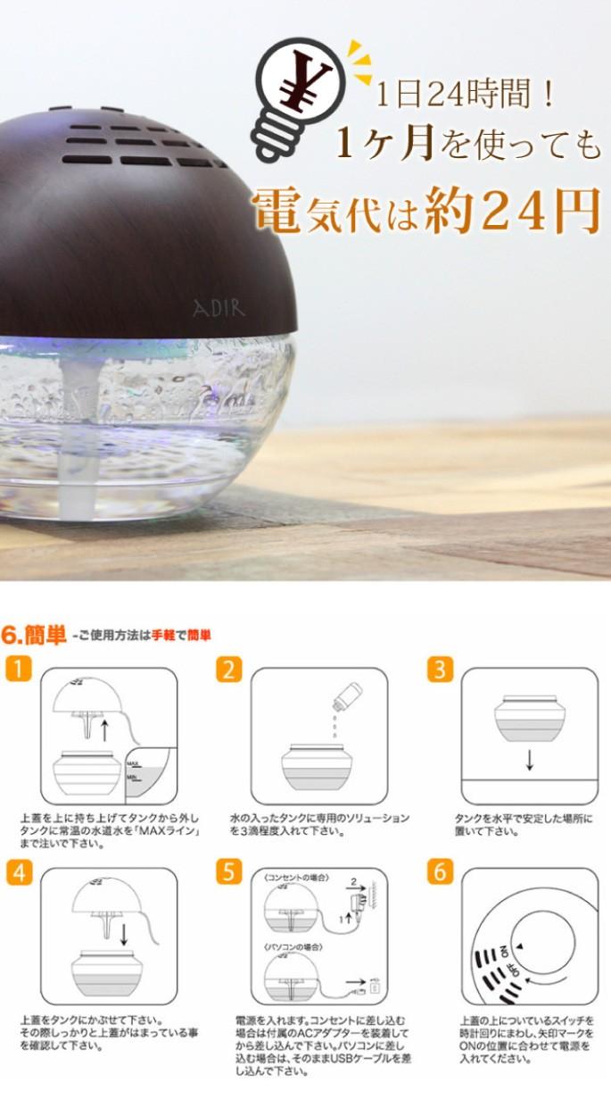 ADIR 空気洗浄機セルバL 11