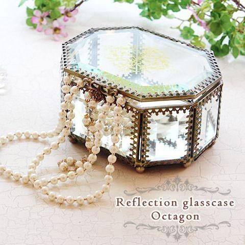 リフレクションガラスケース オクタゴン