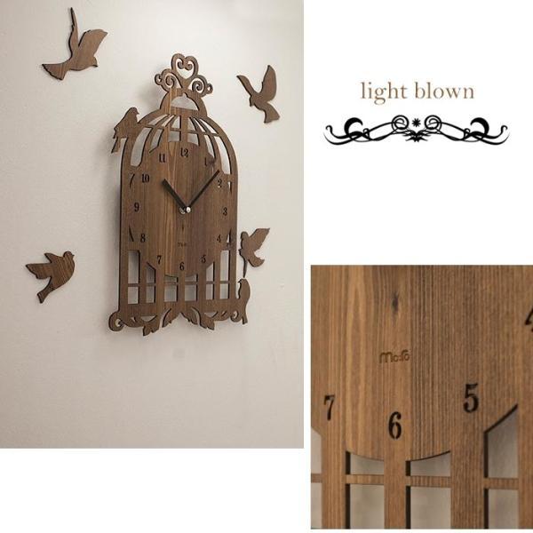 壁掛け時計 BIRD HOUSE|lifeup-s|04