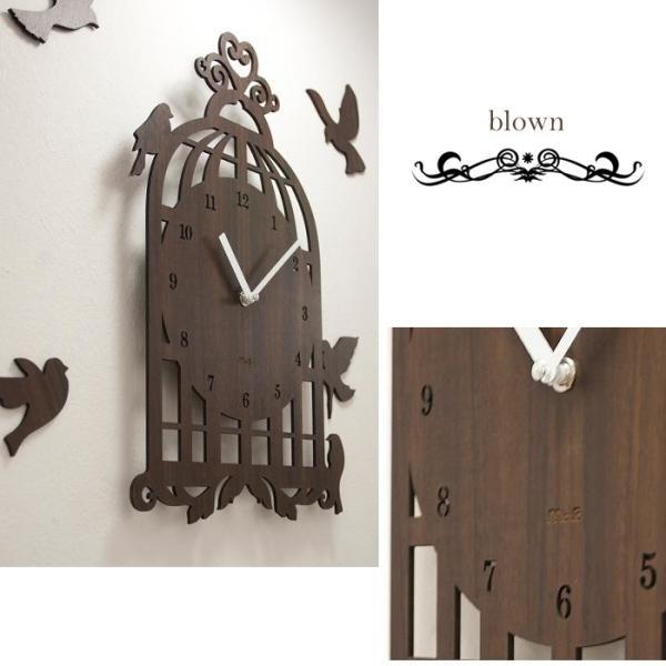 壁掛け時計 BIRD HOUSE|lifeup-s|03
