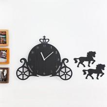 壁掛け時計 CARRIAGE 馬車