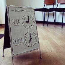 OPEN/CLOSE サインボード