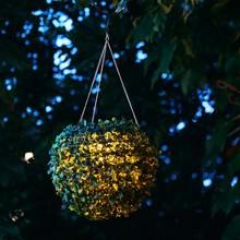 ソーラー充電式ハンギングライト フォレスト ガーデンライト