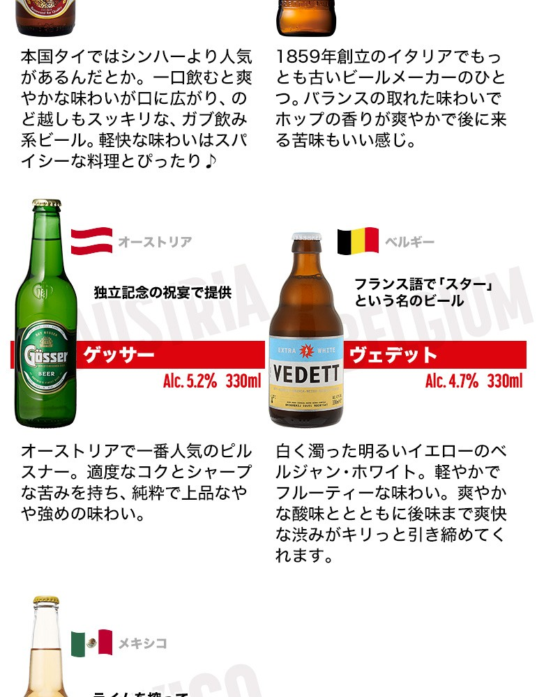 海外ビール9セット