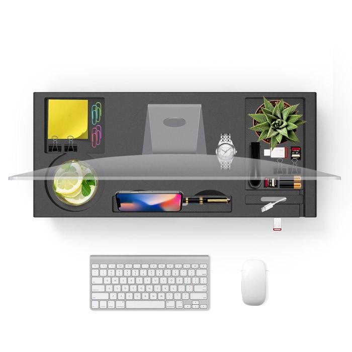 モニター台 机上台 モニタースタンド USBハブ付き PCスタンド パソコン台 デスク 机 テーブル 作業台 USBポート