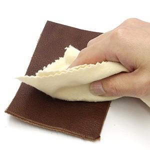 革バッグ用クリーム使用法4