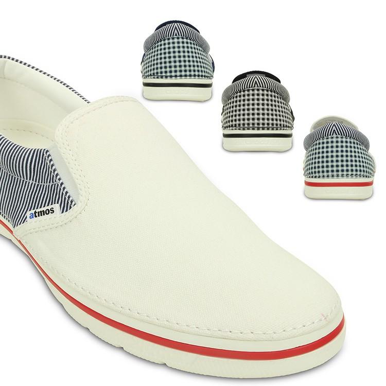 【crocs】【クロックス】【正規代理店】crocs norlin atmos slip-on クロックス ノーリン アトモス スリップオン 正規品 レディース メンズ カジュアル フーバー スニーカー サンダル ユニセックス ぺたんこ フラットシューズ 運動靴