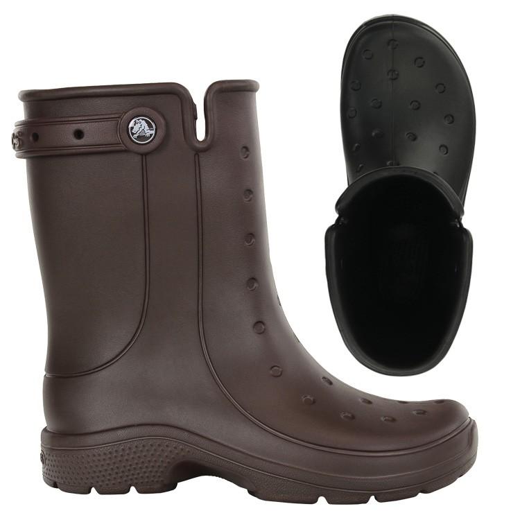 【crocs】【クロックス】【正規代理店】reny 2.0 boot レニー 2.0 ブーツ 正規品 メンズ レディース ウィメンズ ユニセックス 男女兼用 ストラップ付 カジュアル レインブーツ 男性用 女性用 フラット シューズ ショートブーツ 長靴