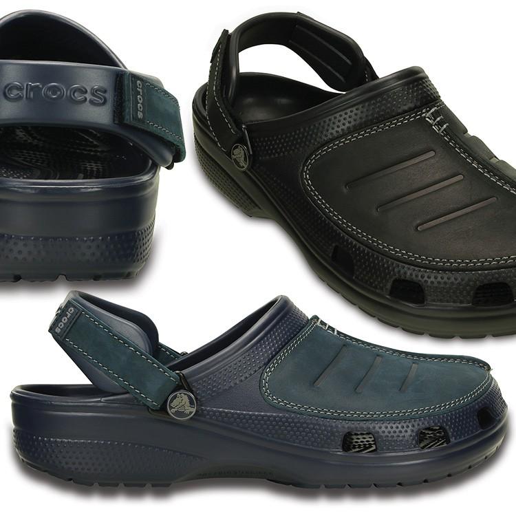 【crocs】【クロックス】【正規代理店】yukon mesa clog ユーコン メサ クロッグ 正規品 男性用 カジュアル サンダル 運動靴 ぺたんこ フラットシューズ