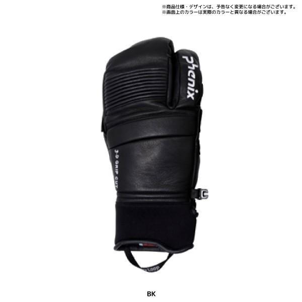 20-21 PHENIX(フェニックス)【スキーグローブ/限定品】Formula Tri-Finger Leather Gloves(FM トリフィンガー グローブ)PFA78GL02【スキーグローブ】|linkfast|03