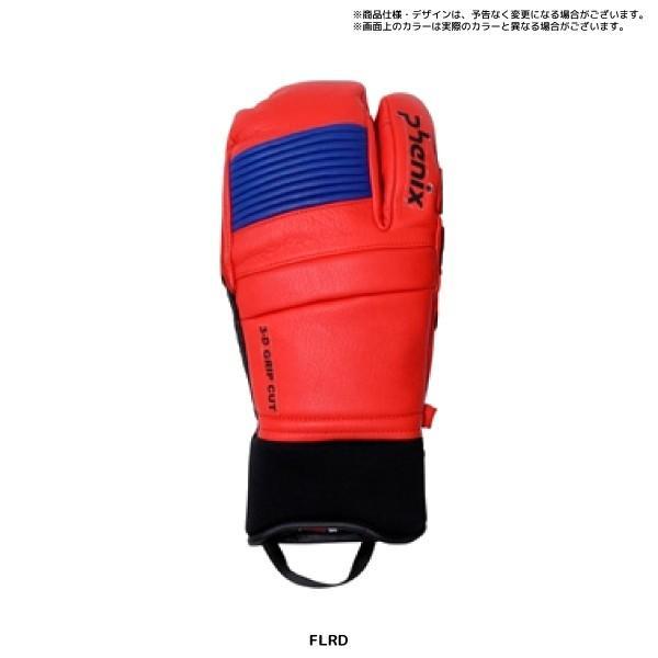20-21 PHENIX(フェニックス)【スキーグローブ/限定品】Formula Tri-Finger Leather Gloves(FM トリフィンガー グローブ)PFA78GL02【スキーグローブ】|linkfast|06