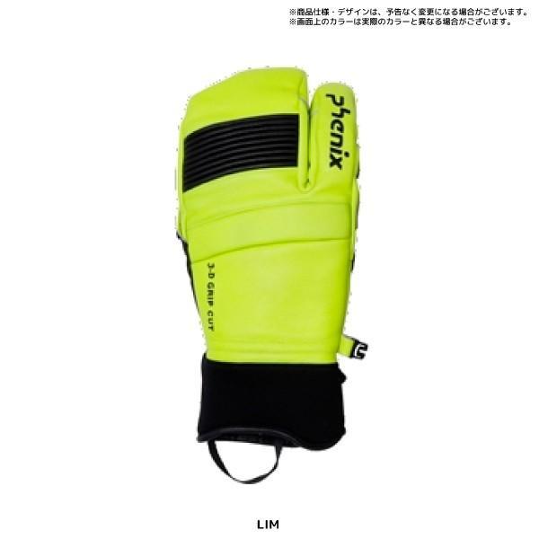 20-21 PHENIX(フェニックス)【スキーグローブ/限定品】Formula Tri-Finger Leather Gloves(FM トリフィンガー グローブ)PFA78GL02【スキーグローブ】|linkfast|05