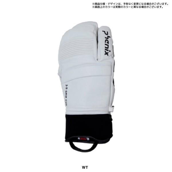 20-21 PHENIX(フェニックス)【スキーグローブ/限定品】Formula Tri-Finger Leather Gloves(FM トリフィンガー グローブ)PFA78GL02【スキーグローブ】|linkfast|04