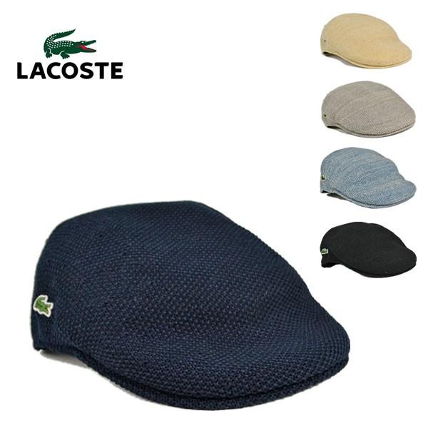 ラコステ・サーモニットハンチングL3522/LACOSTE