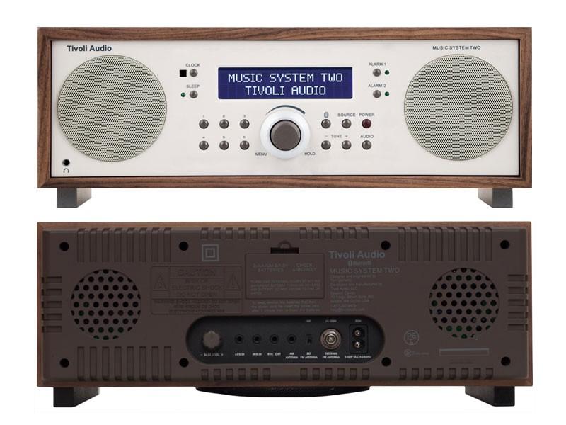 Tivoli Audio(チボリ・オーディオ)Music System two(ミュージックシステム・ツー,Bluetooth対応モデル