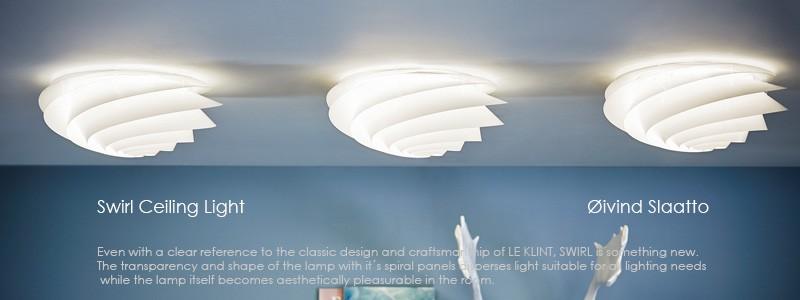 Swirl,LE KLINT(レ・クリント),北欧ペンダントライト,スワール,デザイナーズ照明,北欧インテリア,デンマーク