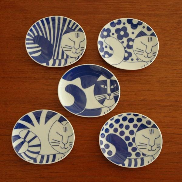 ごのねこ豆皿,Lisa Larson,リサラーソ,JAPAN Series,北欧雑貨,北欧インテリア,北欧キッチン雑貨