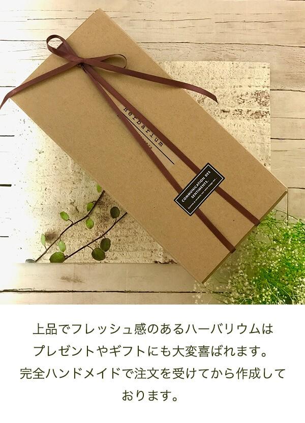 グリーンハーバリウム かすみ草 商品イメージ2