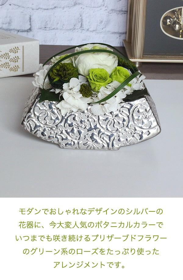 プリザのグリーンインテリア 癒やし 商品イメージ0