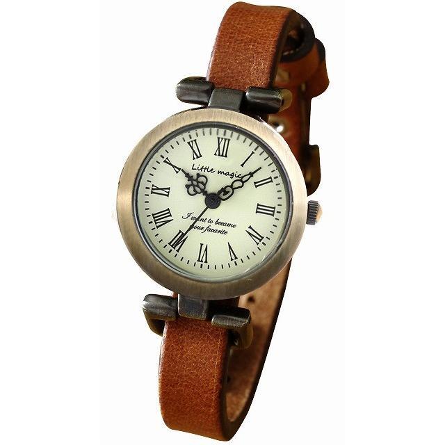 腕時計 レディース 可愛い リトルマジック 時計 おしゃれ 小さめ 1重巻き アンティーク 腕時計 本革 防水 人気 ブランド ブレスレット 腕時計 レディース 時計|littlemagic|21
