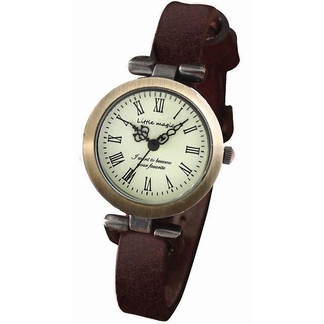 腕時計 レディース 可愛い リトルマジック 時計 おしゃれ 小さめ 1重巻き アンティーク 腕時計 本革 防水 人気 ブランド ブレスレット 腕時計 レディース 時計|littlemagic|20