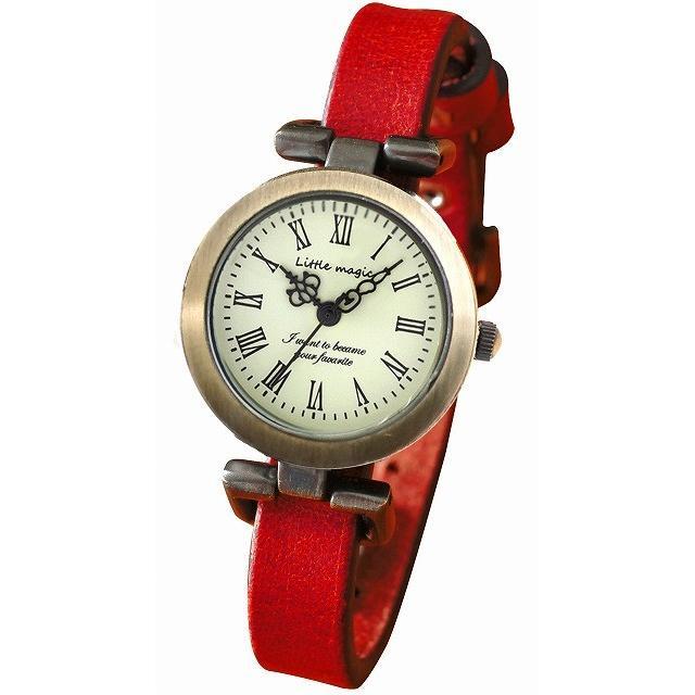腕時計 レディース 可愛い リトルマジック 時計 おしゃれ 小さめ 1重巻き アンティーク 腕時計 本革 防水 人気 ブランド ブレスレット 腕時計 レディース 時計|littlemagic|23