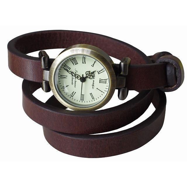 腕時計 レディース 可愛い リトルマジック 時計 おしゃれ 小さめ 1重巻き アンティーク 腕時計 本革 防水 人気 ブランド ブレスレット 腕時計 レディース 時計|littlemagic|26