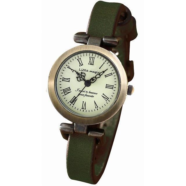 腕時計 レディース 可愛い リトルマジック 時計 おしゃれ 小さめ 1重巻き アンティーク 腕時計 本革 防水 人気 ブランド ブレスレット 腕時計 レディース 時計|littlemagic|24