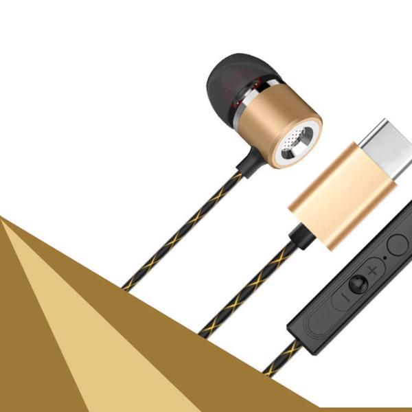 カナル型 Type-C イヤホン Type C USB イヤホン Xperia HUAWEI TypeC イヤホン ケーブル タイプC オーディオ イヤフォン リモコン機能 通話 高音質 絡ましにくい|livelylife|12