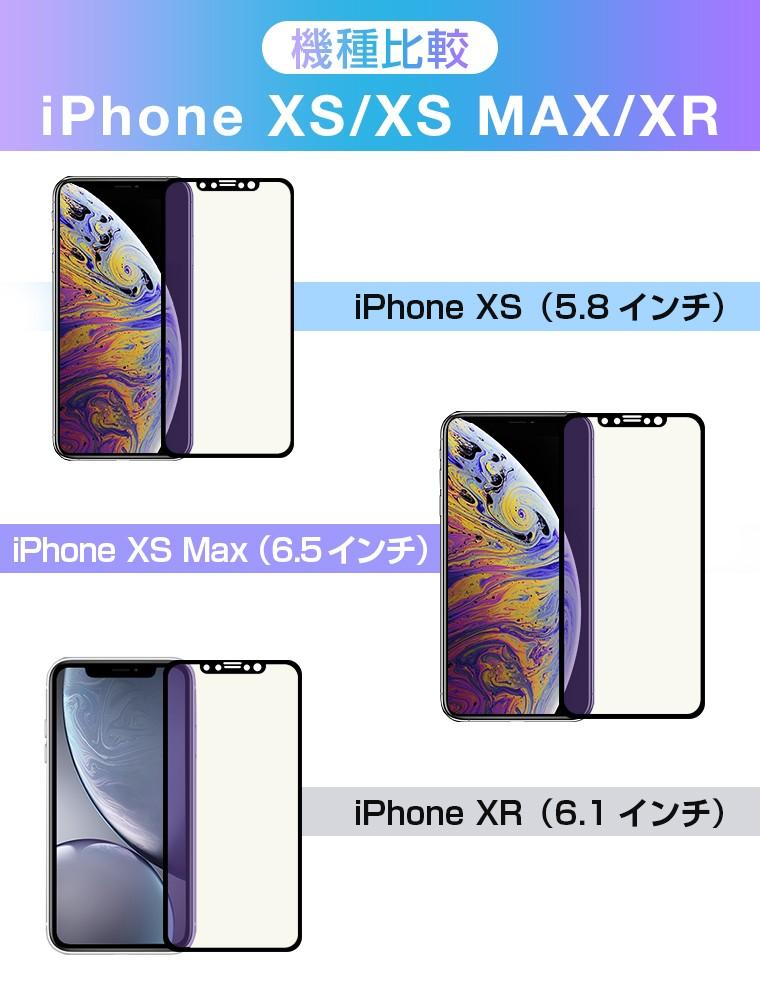 iPhone XR フィルム ブルーライトカット