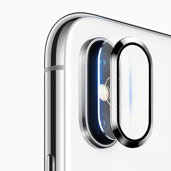 レンズ保護リング+カメラ保護フィルム セット iPhone XS カメラ用ガラスフィルム iPhone XS Max カメラリング 全面 アイフォン テン 強化ガラス|livelylife|09