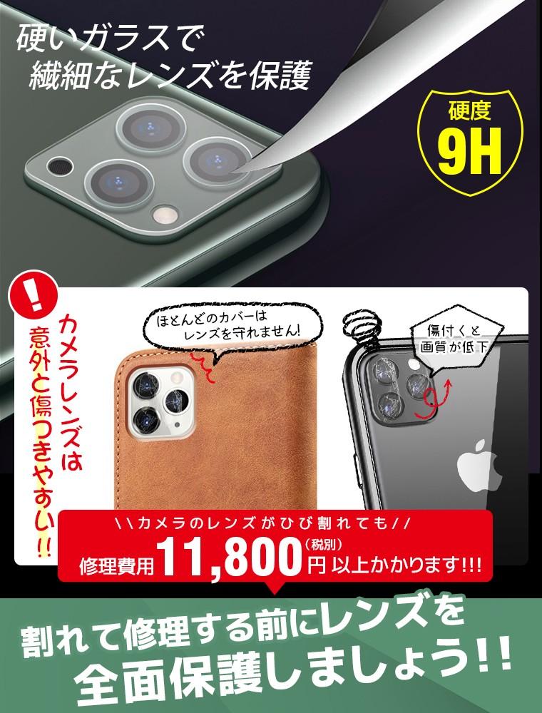iPhone 11 Pro Max レンズ保護 フィルム