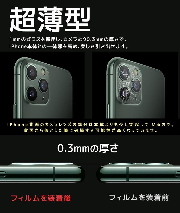 アイフォン 11 レンズ保護 シール