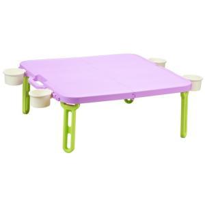 折りたたみ ピクニックテーブル 運動会 バタフライレジャーテーブル角型 livewell 12