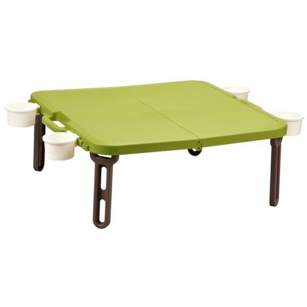 折りたたみ ピクニックテーブル 運動会 バタフライレジャーテーブル角型|livewell|14