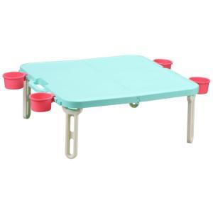 折りたたみ ピクニックテーブル 運動会 バタフライレジャーテーブル角型 livewell 15