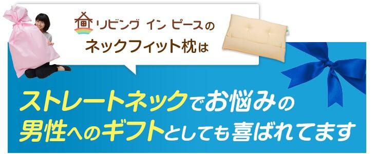 ストレートネック対応 ネックフィット枕の商品情報 安心の日本製