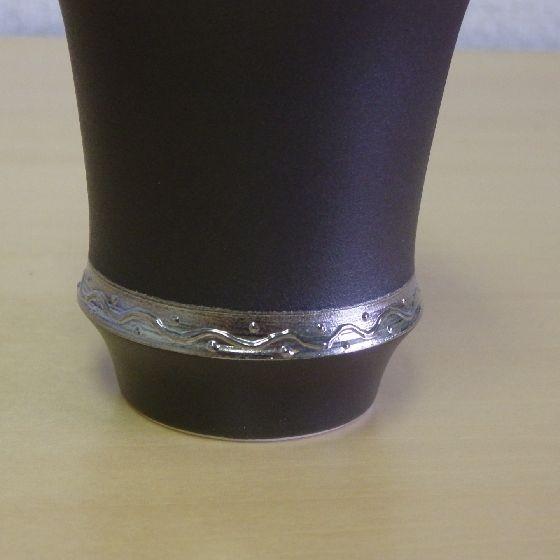 【有田焼】いぶし銀 反型 日本酒グラス 酒カップ 匠の蔵 淡麗  有田焼  ARITA