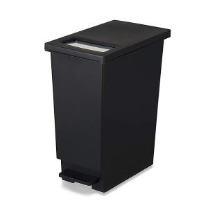 ゴミ箱 45リットル キッチン ユニード プッシュ&ペダル 45S ( ごみ箱 ダストボックス スリム 45L 45l ふた付 キッチン おすすめ ) livingut 11
