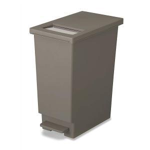ゴミ箱 45リットル キッチン ユニード プッシュ&ペダル 45S ( ごみ箱 ダストボックス スリム 45L 45l ふた付 キッチン おすすめ ) livingut 09