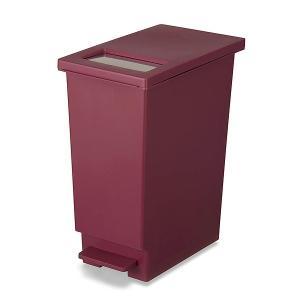ゴミ箱 45リットル キッチン ユニード プッシュ&ペダル 45S ( ごみ箱 ダストボックス スリム 45L 45l ふた付 キッチン おすすめ ) livingut 10