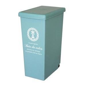ゴミ箱 45リットル ふた付き スライドペール 45L ( ごみ箱 ダストボックス キッチン )|livingut|13