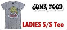 ジャンクフード/JUNK FOOD レディース半袖Tシャツ